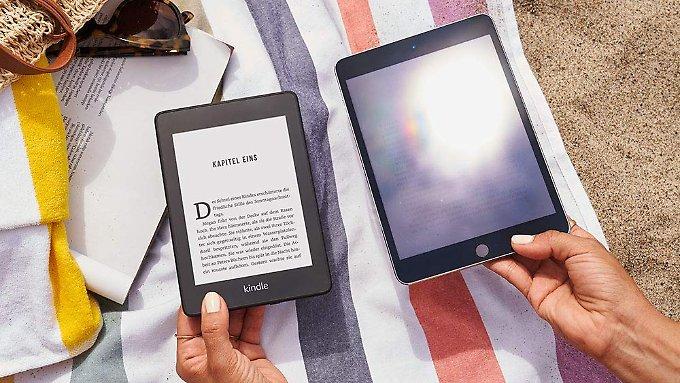 Für Urlaub, Bett und Badewanne: Drei neue E-Reader zum Lesen und Hören