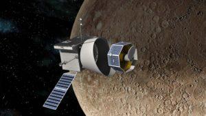 Ankunft in sieben Jahren: Merkur-Sonde tritt schwierige Mission an