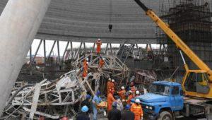 67 Tote bei schwerem Unfall auf Kraftwerksanlage