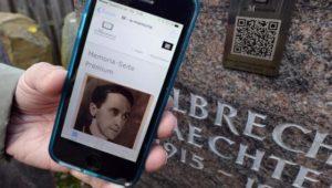 Mit der Friedhofs-App zum Grab