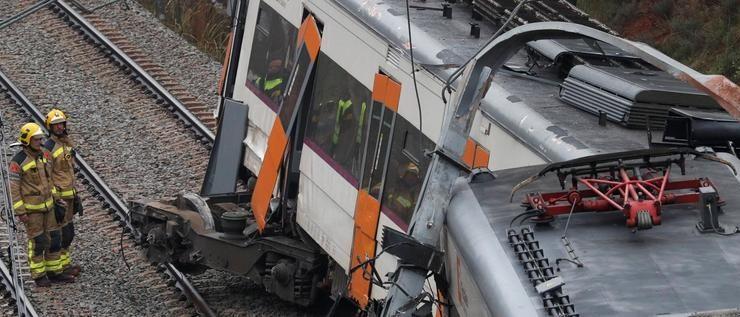Ein Toter und dutzende Verletzte bei Zugunglück in Spanien