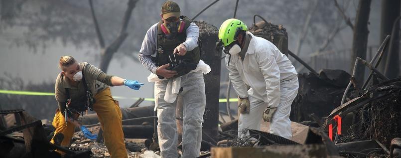 Über 1000 Vermisste nach Waldbränden in Kalifornien