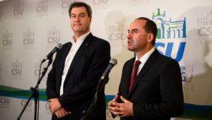 CSU und Freie Wähler: Bayern-Koalition könnte bereits am Wochenende stehen
