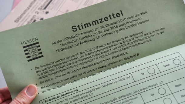 Hessen: wähler stimmen für Abschaffung der Todesstrafe