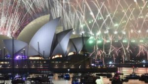 """""""Happy New Year 2018"""": Sydneys Feuerwerks-Meister begrüßen das falsche Jahr"""