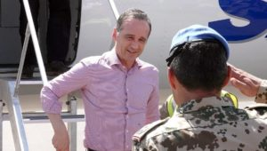 Wieder eine Flugzeugpanne: Außenminister Maas sitzt in Mali fest